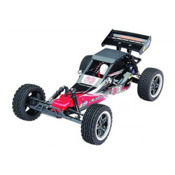 Dune Buggy 1/10 2WD 2.4GHz Brushless with light LED - Black/Red (A2033T-V2)