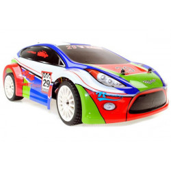 Shadow Brushless RC Rally Car - 2.4GHz - White/Blue (A2029TV2)