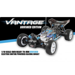 FTX Vantage 1/10 Brushed Buggy 4WD RTR 2.4Ghz / Waterproof (FTX5528)