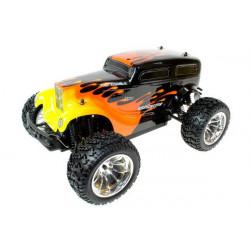 CRAZYIST Monster Tuck 1/10eme 4WD Electrique - 27Mhz RTR (94211HOTROD)
