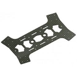 Plaque carbone inferieure pour chassis Racer S250 Carbon Frame/ARF (SPX-83016)