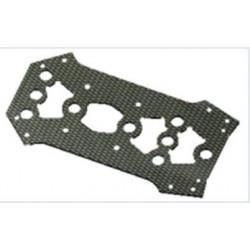 Plaque carbone superieure pour chassis Racer S250 Agility Carbon Frame/ARF (SPX-83020)
