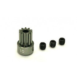 Hard Anodized Aluminium Pinion (10T) -B180CFX