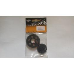 Spur gear w/bracket 1 set (30035)