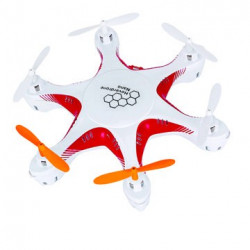 Hoverdrone Nano 2.4Ghz Rouge/Blanc