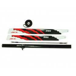 OXY3 - Lynx Stretch - Combo - 285 mm ZEAL CF Main Blade (LX1548-A)