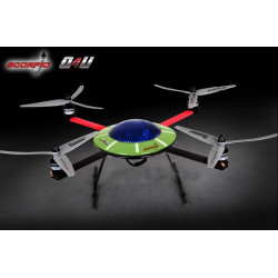 Scorpio Q4U Quadricopter with DEVENTION 7 (2.4 Ghz Mode 2)