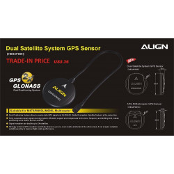 Nouveau Dual Satellite System GPS Sensor (HEGAPS08T)