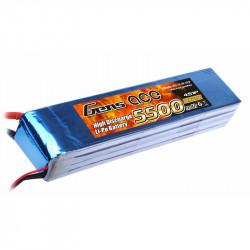 Gens ace 5500mAh 14.8V 25C 4S1P Lipo Batterie Pack (B-25C-5500-4S1P)