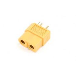 CONNECTEUR OR XT 60 MALE S4 (GF-1003-002)