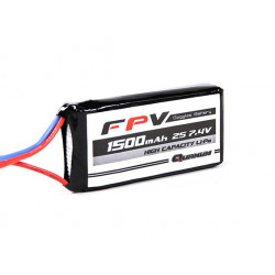 Quanum FPV Headset Battery 7.4V 1500mAh 3C (EU Warehouse) (944000015-0)