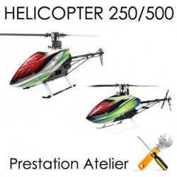 Class 250-500 Montage, Réglages et Test Hélicoptère