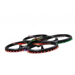 Quadricoptère Flyscout Compas-LED-Caméra