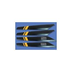 Main rotor blades Yellow