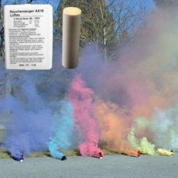 FUMIGENE AX-18 - 5 COULEURS MELANGE (7050)