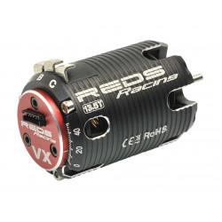 MOTEUR BRUSHLESS REDS VX 540 21.5T 2 POLES SENSORED F1 (REDMTTE0008)