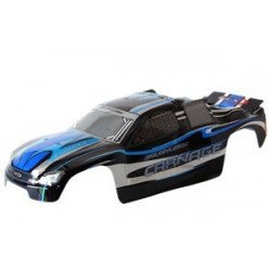 FTX CARNAGE ST PRINTED BODY - BLACK (BRUSHLESS) (FTX6342)