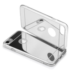 """BACK CASE """"MIRROR"""" iPhone 7 silver"""