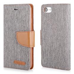 "CASE ""FANCY"" CANVAS iPhone 7 gray"