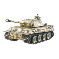 CHAR RC2.4GHZ 1/16 GERMAN PANTHER METAL (BRUIT/FUMEE) (TG3819-1)
