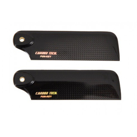 Carbon tail rotor blade, 105mm (04846)