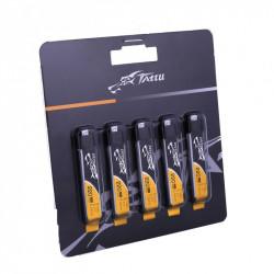 TATTU 220mAh 3.7V 45C 1S1P Lipo Battery Pack with EFLITE Plug (5 pcs/pack) (TA-45C-220-1S1P-Molex-5)