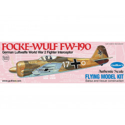 Avion Warbird Focke-Wulf FW-190 (502 Guillow's)