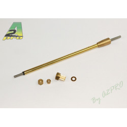 Arbre d'helice 6mm/M4 M4 150/186mm (230102)