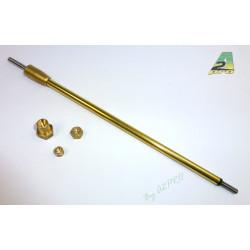 Arbre d'helice 6mm/M4 M4 175/211mm (230103)