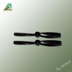 Helice Gemfan PC 4x4.5 bullnose noir (2 pcs) (GNB4045)