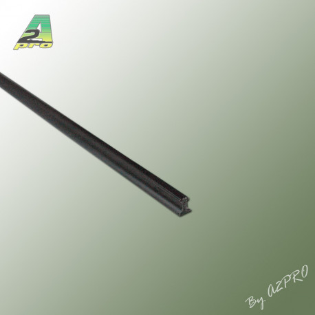 Profile styrene Rail Lg 1m x 1.05mm scale H0(TT) (246051)