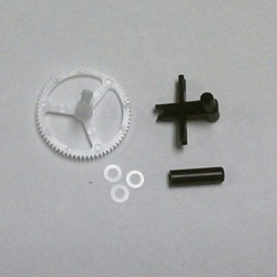 Lower Rotor Head Outer Shaft/Gear Washers (3) (BLH2717)