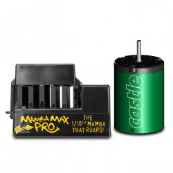 MAMBA MAX PRO 1:10TH 25V EXTREME CAR ESC W/1406-5700 MOTOR (CSE010006607)