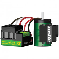 MMX PRO SCT 1:10TH 25V ESC COMBO WITH 1410-3800KV 4 POLE 2 CELL RACE MOTOR FOR EXTREME RACING (CSE010009600)