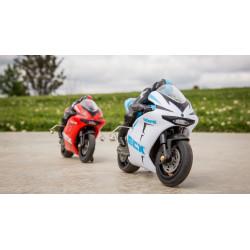 Outburst 1/14 Motorcycle: RTR Blue (ECX01004T1)