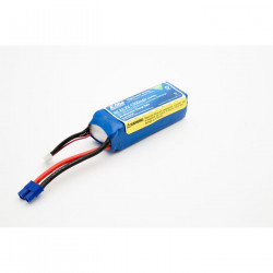 1300mAh 6S 22.2V 30C LiPo, 13AWG EC3 (EFLB13006S30)