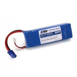 1500mAh 3S 11.1V 20C LiPo 13AWG EC3 (EFLB15003S)