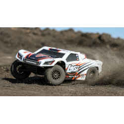 TENACITY SCT RTR, AVC: 1/10 4WD WHITE/ORANGE (LOS03010T2)