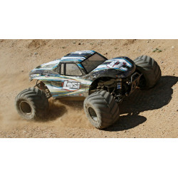 Monster Truck XL RTR, AVC: 1/5 4WD (Black) (LOS05009T1)