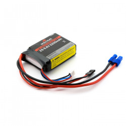 2200mAh 2S 6.6V Li-Fe Receiver Battery (SPMB2200LFRX)
