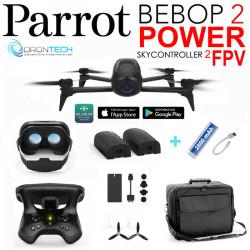 Drone Bebop 2 FPV Power + Sac Millenium + Power bank