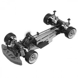 YOKOMO DRIFT PACKAGE DIB GREY VERSION CHASSIS KIT