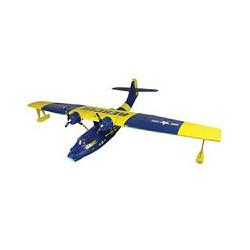 DYNAM PBY CATALINA TWIN BL/YEL 1470mm w/o TX/RX/Batt