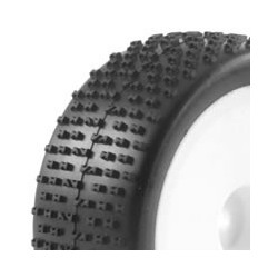 FASTRAX 1/10TH MOUNTED BUGGY TYRES LP H PATTERN FRONT