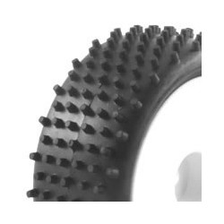 FASTRAX 1/10TH MOUNTED BUGGY TYRES LP STUB FRONT