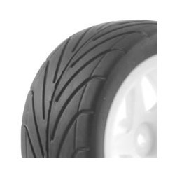 FASTRAX 1/10TH MOUNTED BUGGY TYRES LP ARROW REAR