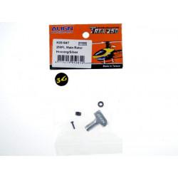 T-Rex 250 - 250FL Main Rotor Housing Set/Sliver (H25104T)