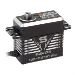 SAVOX HV CNC MONSTER BRUSHLESS SERVO 50KG/0.13s@7.4V