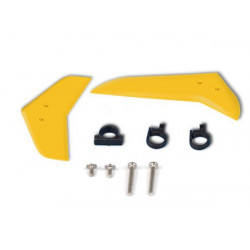 Vertical and horizontal tail blade set (yellow)
