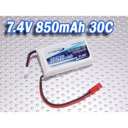 Li-po Battery 7.4v 850mah-30C/5C